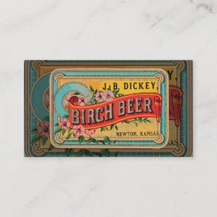 Carte De Visite Vintage Biere