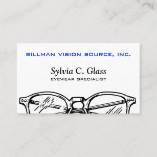 Carte De Visite Vision Optique Lunetterie Lunettes
