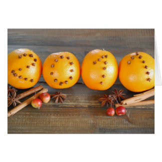 carte de voeux 2011 oranges