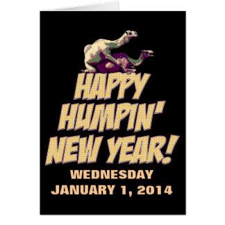 Carte de voeux 2014 heureuse de nouvelle année de