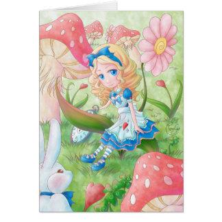 Carte de voeux - Alice