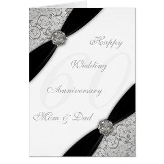 Carte de voeux d anniversaire de mariage de damass