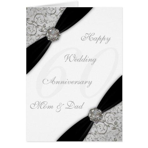 Carte de voeux d'anniversaire de mariage de damass