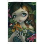 """Carte de voeux """"de bouquet de Wildwood"""""""