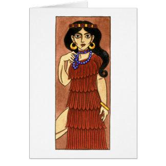 Carte de voeux d'Inanna