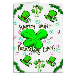 Carte de voeux du jour de Patrick de saint