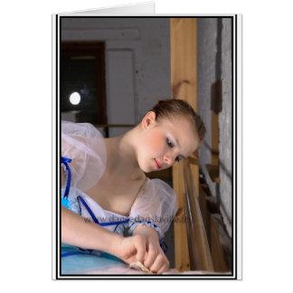 Carte de voeux Emilie la Danseuse