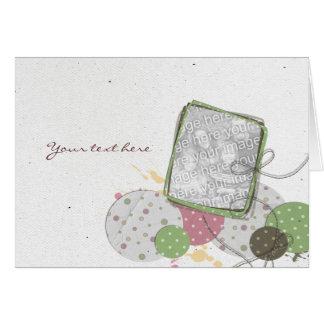 Carte de voeux greeting card