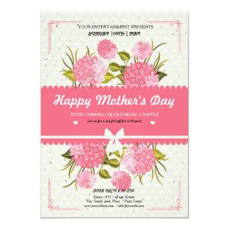 Carte de voeux heureuse du jour de mère carton d'invitation  12,7 cm x 17,78 cm