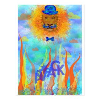 Carte de voeux Lion Cartes Postales