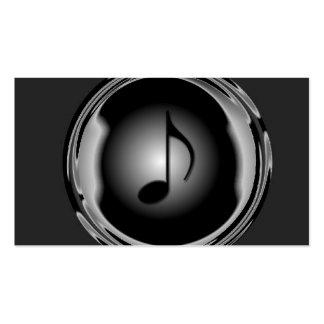 Carte d'industrie musicale carte de visite standard