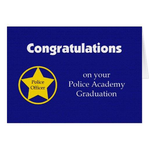 Carte d'obtention du diplôme d'école de police --