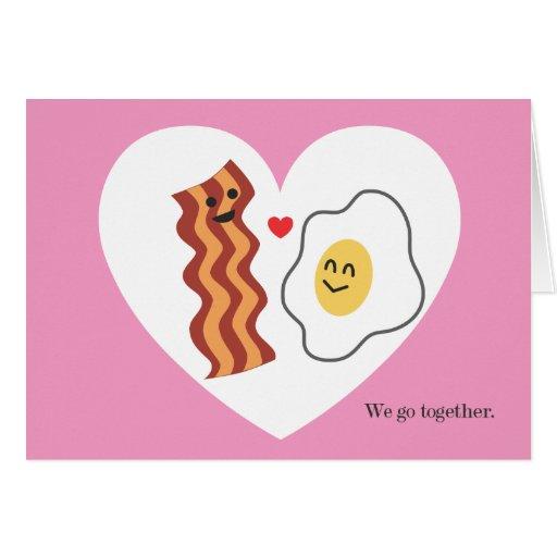 Carte douce et drôle de Saint-Valentin