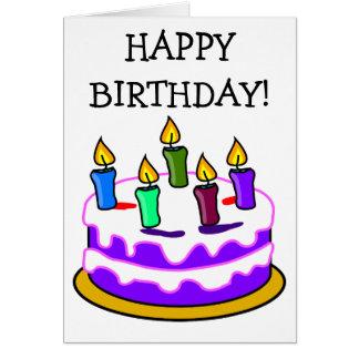 Carte drôle de joyeux anniversaire