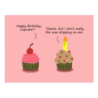 Carte drôle de joyeux anniversaire : Ennuis de bou Carte Postale