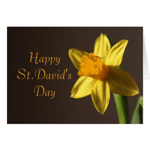 Carte du jour de St David