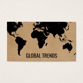 Carte du monde | 2 naturels