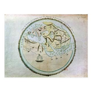 Carte du monde cartes postales