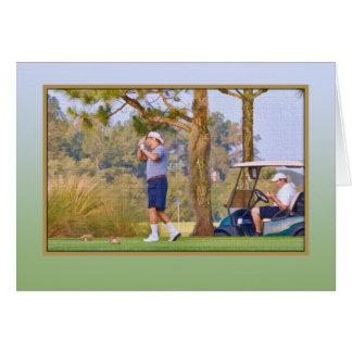 Carte du paradis du golfeur