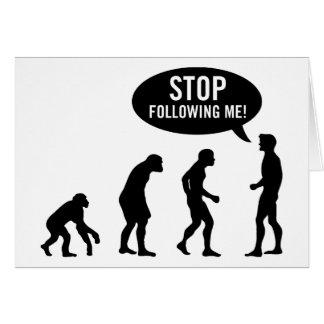 Carte évolution