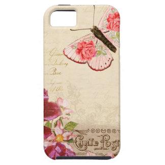 Carte florale française Postale Coques Case-Mate iPhone 5