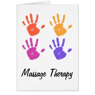 Carte II de thérapie de massage