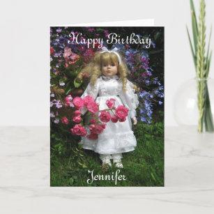Cartes De Vœux Anniversaire Jennifer Zazzle Ca