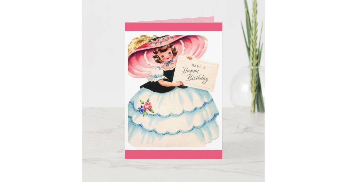 Carte Joyeux Anniversaire Jeune Fille Zazzle Ca