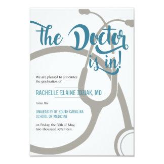 Carte Le docteur est dedans