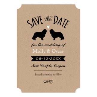 Carte Le Roi cavalier Charles Wedding Save la date