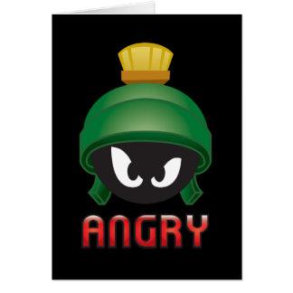 Carte MARVIN le MARTIAN™ Emoji fâché