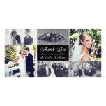 Carte photo de Merci de nouveaux mariés Photocarte Customisée