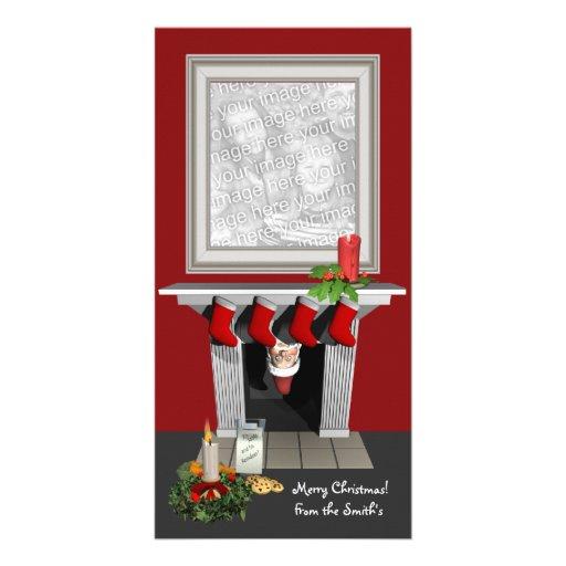 Carte photo drôle de Noël Cartes De Vœux Avec Photo