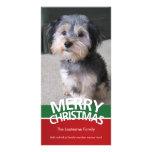 Carte photo : Joyeux Noël avec 1 grande photo Photocartes Personnalisées