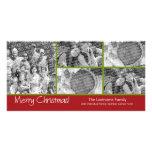 Carte photo : Joyeux Noël avec le collage de 5 pho Photocartes Personnalisées