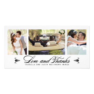 Carte photo l'épousant de Merci du collage | Carte Avec Photo