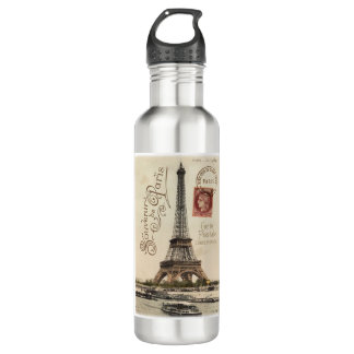 Carte Postale 24 oz. Stainless Steel 710 Ml Water Bottle