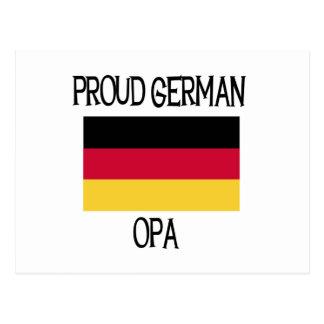 Carte Postale Allemand fier Opa