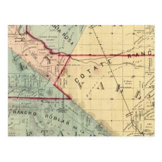 Carte Postale Analy, Santa Rosa, Vallejo, et banlieues noires de