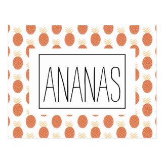 Carte postale Ananas Postcard
