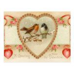 Carte postale antique de Valentine