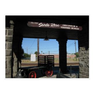 Carte Postale Bureau de visiteurs de Santa Rosa