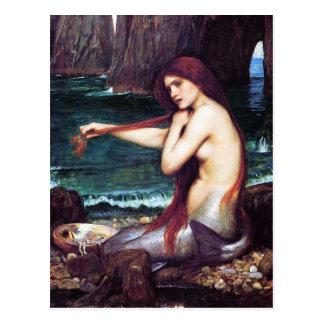Carte postale Château d eau de John - une sirène
