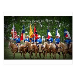 Carte Postale Club Vernon, le Texas de palomino de Santa Rosa