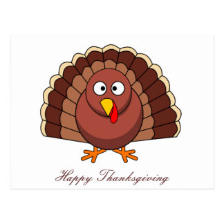 Carte postale de bon thanksgiving