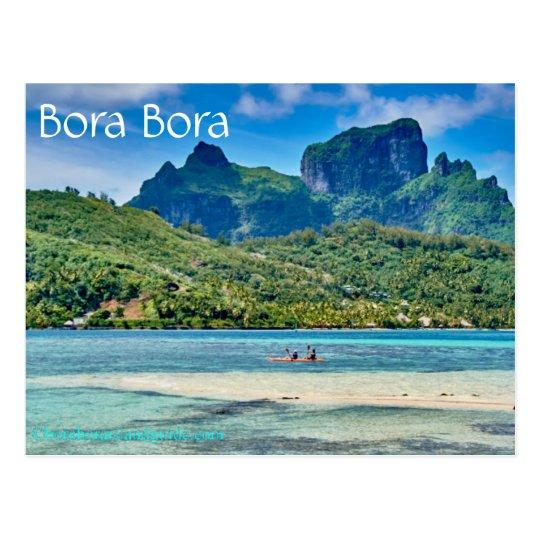 Carte postale de Bora Bora   Zazzle.ca