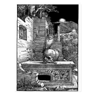 Carte postale de cru de Momento Mori