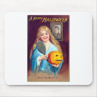 Carte postale de Halloween - Ellen Clapsaddle Tapis De Souris
