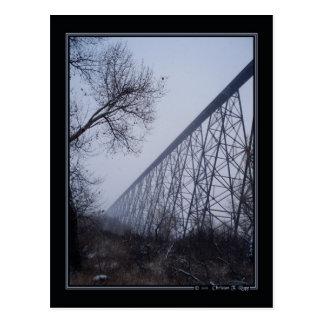 Carte postale de haut niveau de pont