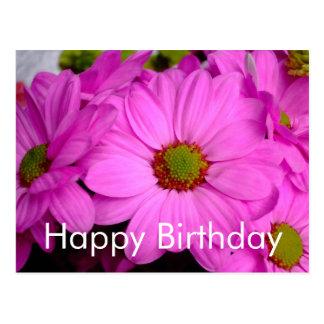 Carte postale de joyeux anniversaire